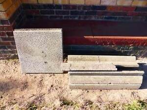 Concrete garden edging and 2 concrete squares - FREE Heyfield Wellington Area Preview