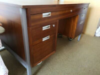Large Retro Desk Plan Chest with Drawing Board and Reference Table Hobby or Sewing Table