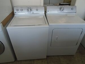 1000579 ENSEMBLE LAVEUSE / SECHEUSE MAYTAG CENTENNIAL WASHER / D