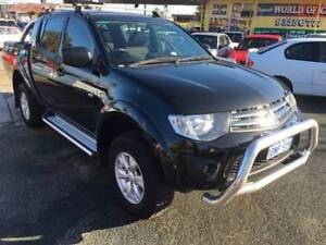 2010 Mitsubishi Triton GL-R 4x4 Diesel Dual Cab Beaconsfield Fremantle Area Preview