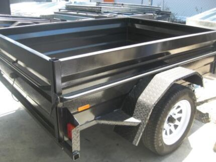 NEW HIGH SIDE 7X4 HEAVY DUTY CHECKER PLATE  SUPER SPECIAL DEAL Blue Haven Wyong Area Preview