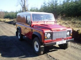 Defender 110 Hard Top - Heavy Duty Chassis - 2.4 TDCi