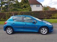 2010 Peugeot 207 1.4 Verve 5dr,long mot ,full history