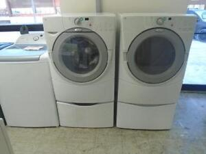 1001005 ENSEMBLE LAVEUSE ET SECHEUSE WHIRLPOOL DUET WASHER AND DRYER SET