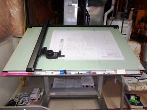 Drafting Table For Sale - Excellent as a reference Table