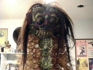 Indonesian devil mask