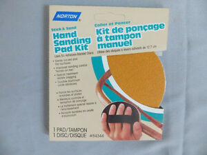 Norton Hand Sanding Pad Kit London Ontario image 1