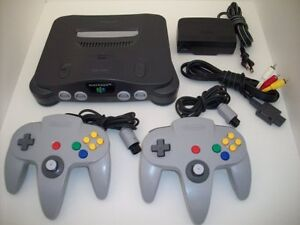 Nintendo N64 Complete with controllers