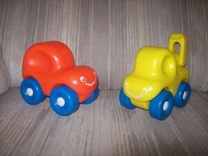 Little Tikes Tykes Retired Chunky Car & Tow Truck