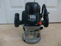 Black and Decker 1 3/4 HP Plunge Router
