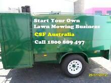 LAWN MOWING START UPS for *$100pw - Be your own boss! Melbourne CBD Melbourne City Preview