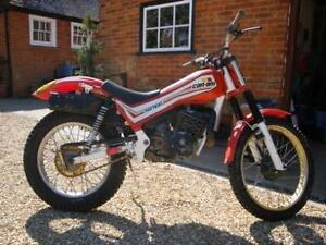 CAN AM TRIALS BIKE WANTED ANY CONDITION CONSIDERED.