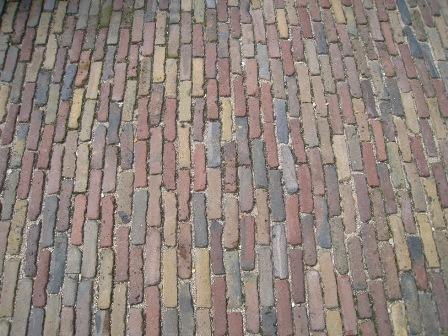 Oude hardgebakken waaltjes genuanceerd waalformaat klinkers tegels en terrasdelen - Oude patroon tegel ...