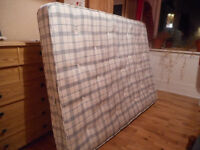 Spring mattress double - free to be picked up