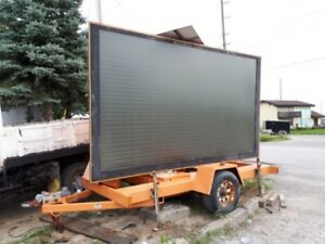 construction solar sight large sign for sale towing package3990$