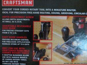 Craftsman Router Attachment London Ontario image 4