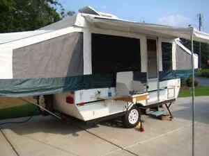 Palomino Tent Trailer Canvas