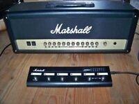 Tete d'ampli Marshall lampe 100 watts flambant neuve JMD:1