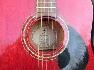 SAMICK DREADNOUGHT D-1/WR GUITAR GREG BENNETT DESIGN