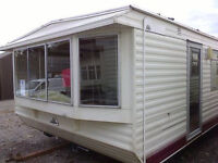 Static caravan for sale, off-site, pre-owned ABI Phoenix 32 x 12 ft 2 bedrooms, good condition