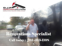 DJP SOLUTIONS- HANDYMAN AND CARPENTRY SERVICES!