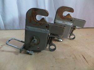 2 Industrial Self Locking Hooks