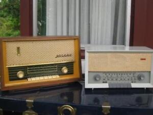 2 Radios antiques