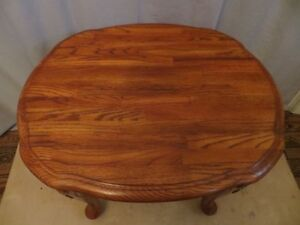 Solid Oak Wood Side Table London Ontario image 3