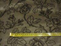Velvet fabric golden brown