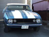 Classic 1967 Camaro Convertible