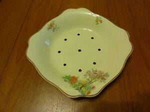 J & G Meakin Sunshine Strainer plate/bowl Melbourne CBD Melbourne City Preview
