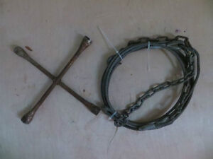 Chain/Cable Hook and Tire Iron