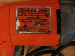 Black and Decker Drill London Ontario image 2
