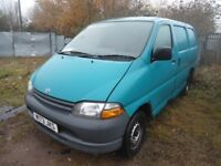 2000 TOYOTA HIACE 2.5 POWERVAN GS SWB WHEEL NUT (BREAKING)