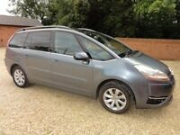 CITROEN C4 GRAND PICASSO 7 EXCL HDI A 7 SEATER DIESEL 57 PLATE 72000 MILES