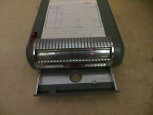 Vintage Moore Portable Receipt Invoice Machine London Ontario image 3