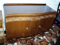 Vintage solid oak sideboard £45