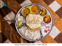 Vegetarian tiffin service
