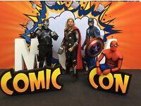 MCM NORTHERN IRELAND COMIC CON 24 - 25 JUNE 2017