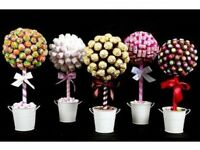 Sweet trees, cakes, wreaths for weddings, birthdays, gifts etc