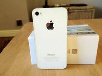 Iphone Blanc 4S 64GB White with Rogers