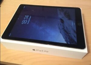 STORE SALE***IPAD AIR 1 ► 16GB  ►SPACE GREY ►MINT CONDITION LOOK