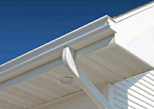 SOFFIT FASCIA EAVESTROUGH SIDING  INSTALLATION/REPAIR