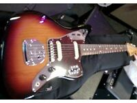 Fender Classic Player Jaguar sunburst (SS) swap/trade/sale