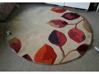 Brand new Next wool rug