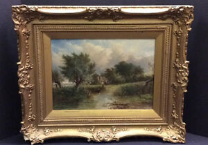 ORIGINAL OIL PAINTING ON CANVAS BY PATRICK NASMYTH