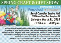 Spring Craft and Gift Sale