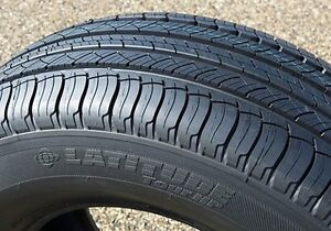 255 50 20 MICHELIN LATITUDE ALL SEASON (2 TIRES ONLY) 100% TREAD