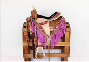 Pink Barrel/western saddle