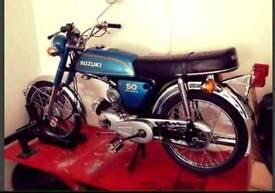 WANTED SUZUKI AP50 1970s